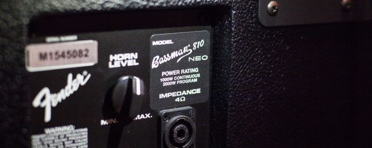 What You Need to Know About Bass Amp Power Ratings — How much wattage do you need when matching a bass cabinet to a bass head?