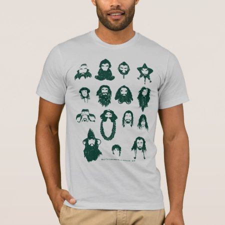 THORIN OAKENSHIELD™ and Company Hair T-Shirt - click/tap to personalize and buy