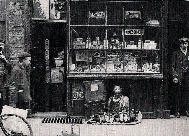 The smallest shop in London. | old school | war time | shop | second world war | London | cute | commitment | shop keeper