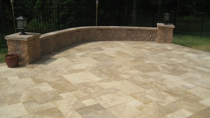 15 best Travertine patios images on Pinterest | Travertine ... on Travertine Patio Ideas id=82070