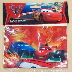 A068240 - Disney Cars Loot Bags Please note: approx. 14 day delivery time. www.facebook.com/popitinaboxbusiness