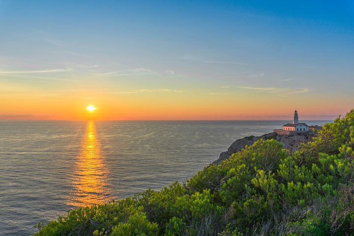 Mallorca, Meer, Sonnenaufgang