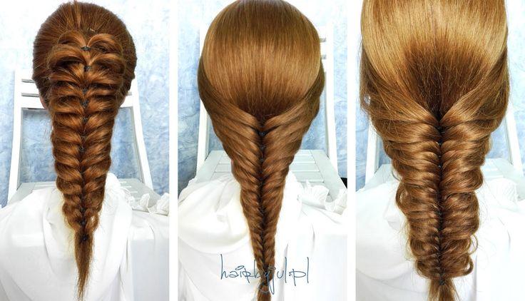 oszukany kłos krok po kroku #kłos #warkocz #hairtutorial