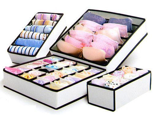 Details about underwear socks ties bras wardrobe closet - Boite de rangement sous vetement ...