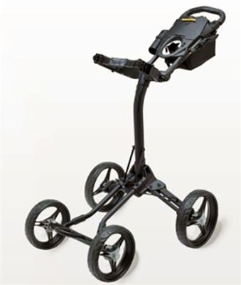 Quad XL-Four Wheel Golf Push Cart-Bag Boy  The New Bag Boy Quad XL is an extremely compact, easy to fold, four wheel push cart.