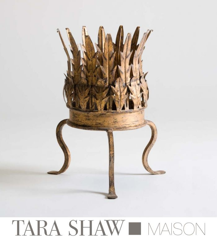 Tara Shaw Maison | Gilded Iron Cachepot