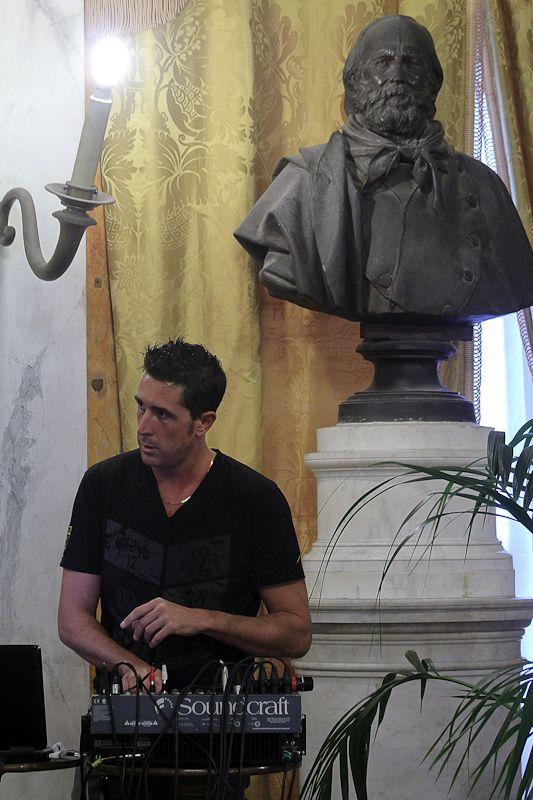 Marco Marini e Giuseppe Garibaldi