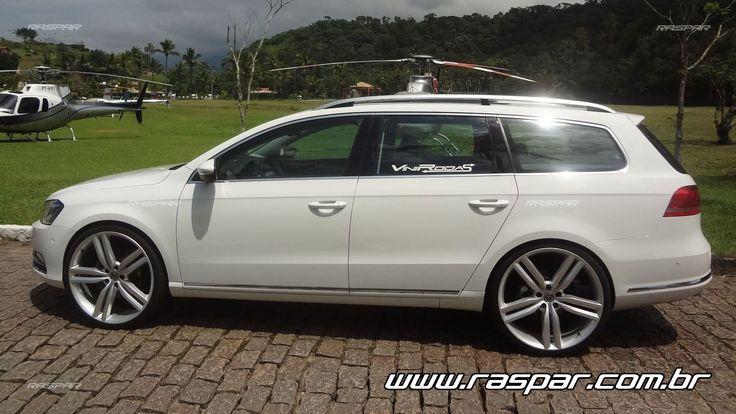 """Volkswagen Passat Variant 2013 com rodas   aro 22""""  foto 1"""