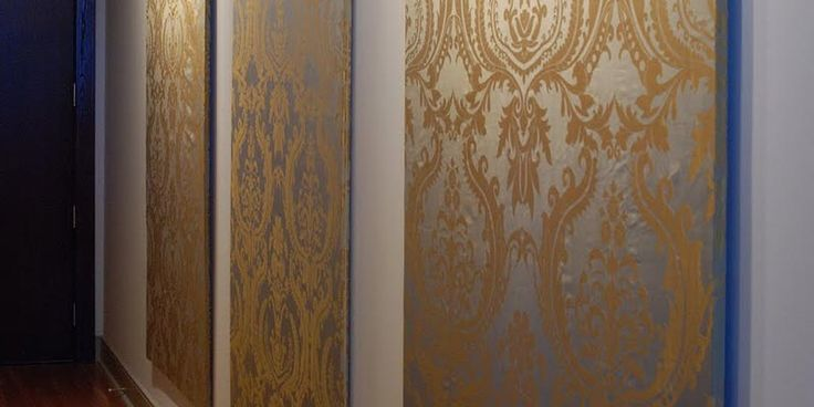 Diy Fabric Wall Panels : Great diy ideas fabric wall panel art for the white