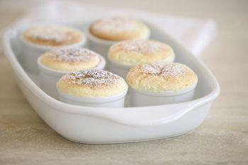 Simple Vanilla Souffle Dessert Recipe