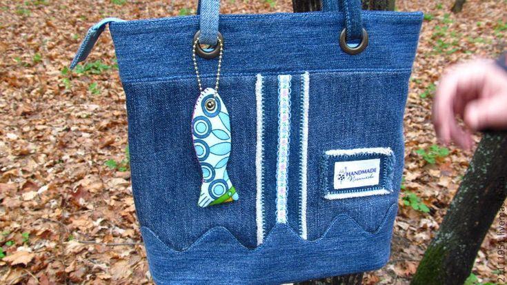 """Купить Сумка """"Розовая рыба"""" - сумка женская, сумка ручной работы, сумка с декором"""