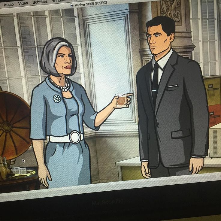 Omg how much I love watching Archer!!! #tvshows #toofunny #archer #timeout by kimneo85