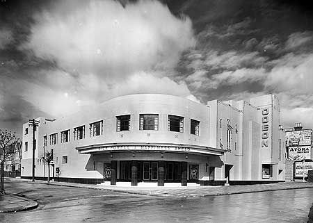 Another lost streamline cinema.  modernism-in-metroland:    Wealdstone Odeon (1934) by AP Starkey  Like the nearby Colindale, North Finchley and South Harrow cinemas, this building was designed by AP Starkey. It opened in 1934 and operated until the early 1970's, when it was demolished.  Image from English Heritage.