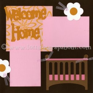 17 best images about scrapbook pages for children on for Welcome home decorations for baby