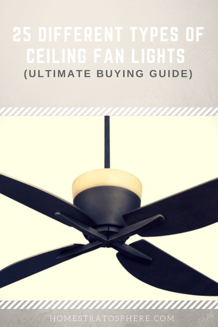 25 Different Types Of Ceiling Fan Lights Ultimate Buying Guide