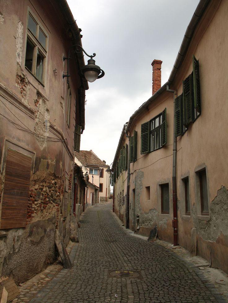 Sibiu, Hermannstadt in Romania. Beautiful city in the heart of Transylvania.