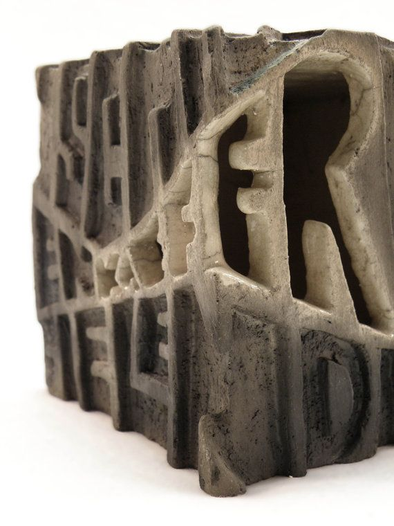Keramik  Unikat  Kubus Lichtobjekt Käfer I... von ZweiZeitGeister, €125.00