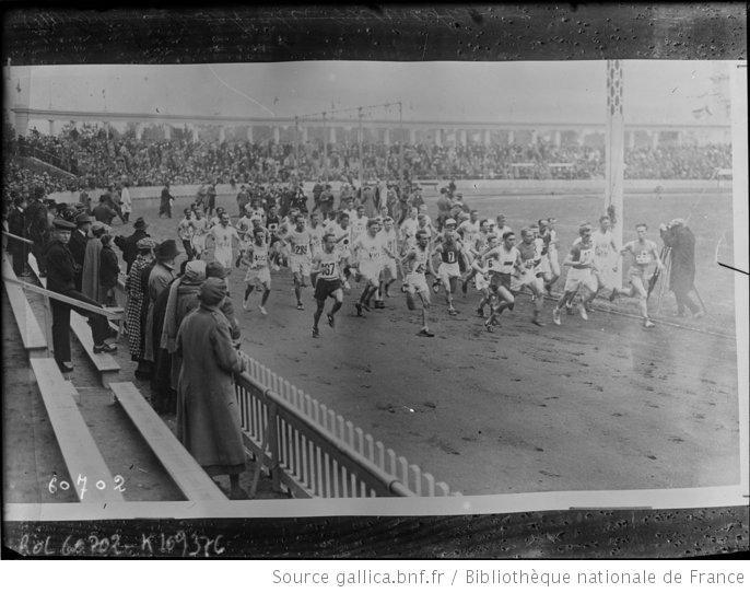 Anvers, départ du marathon [Jeux olympiques, 22/8/20] : [photographie de presse] / [Agence Rol] - 1