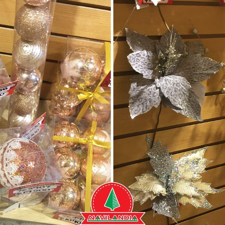 Los adornos con brillo no deben faltar en tu decoración navideña, plateado y dorado son los más buscados. 🎄💖🎄 #ArbolesDeNavidadCali #ArbolesDeNavidadMedellin #ArbolesDeNavidadColombia