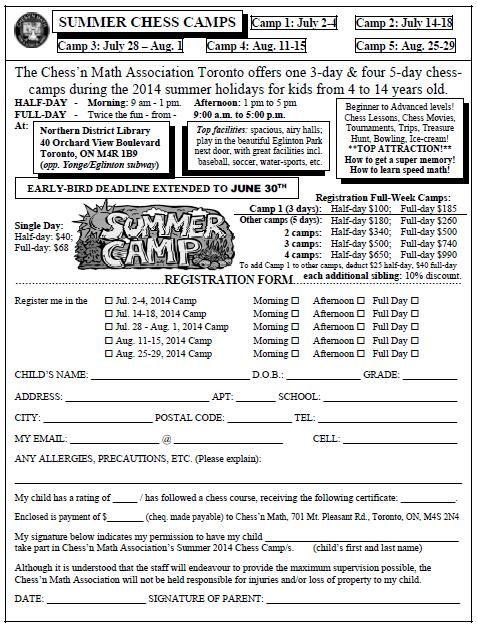 Summer Camps for Chess!  #chess#summercamp#toronto#fun