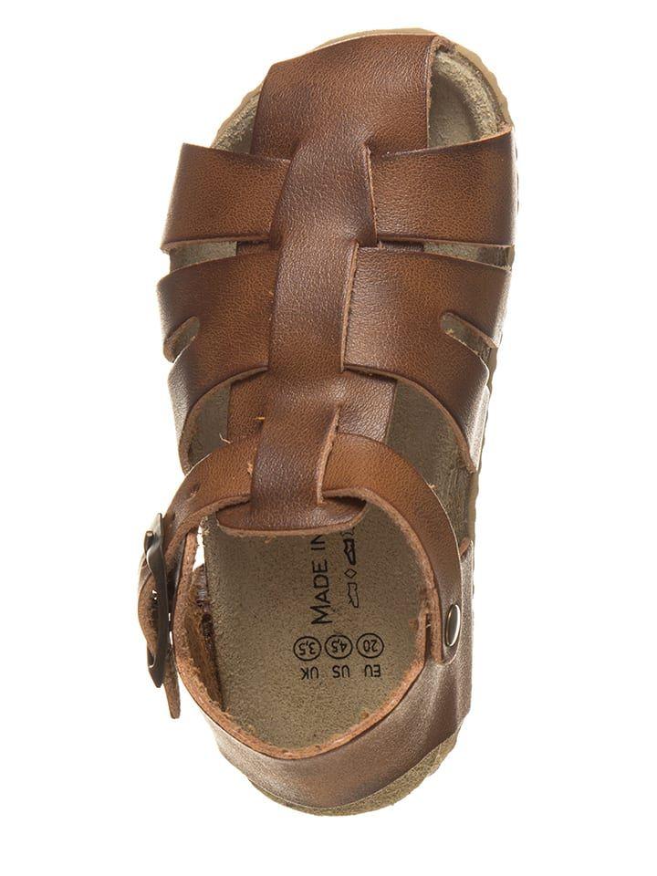 Polsandaly W Kolorze Brazowym Little Sky Obuwie Dzieciece Limango Shoes Sandals Birkenstock