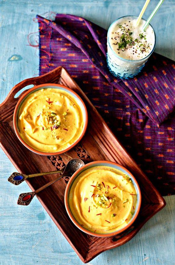 Indian sweet recipes with yogurt