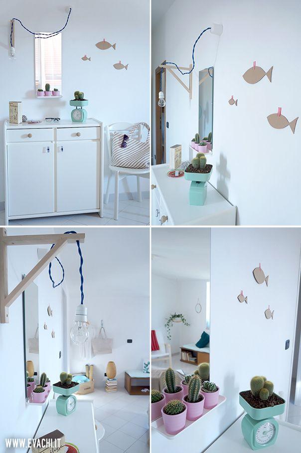 DETAILS: Un piccolo soggiorno di una casa vacanza al mare _ A little living room, Holiday Home [IKEA, H&M Home, COIN Casa]