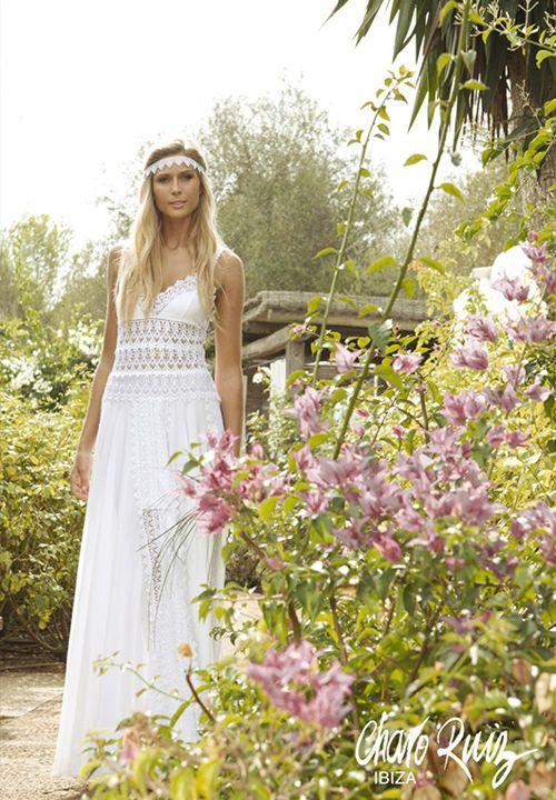 Vestidos de novia ibicenco · Colección 2013 de Charo Ruiz