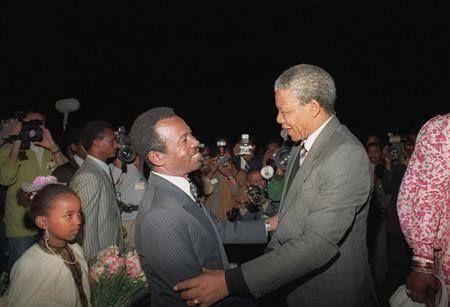 Mengistu Haile Mariam and Nelson Mandela