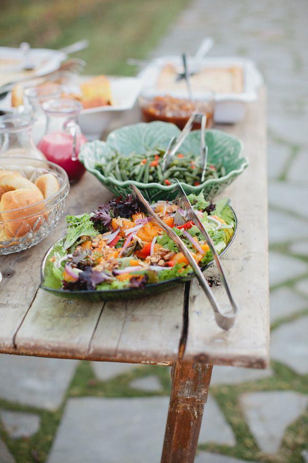 summer salad for summer wedding food ideas | itakeyou.co.uk