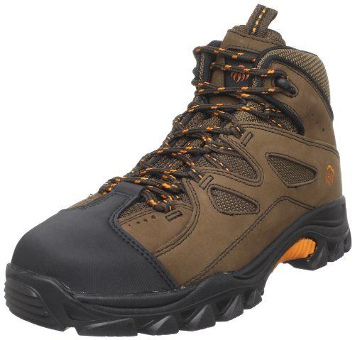 Wolverine Men's Hudson W02194 Work Boot Wolverine. $64.00. Steel toe rated ASTM F2413-05 M I/75 C/75 EH. Nubuck sueded leather and mesh uppe. Removable full-cushion footbed. Lightweight nylon shank fights fatigue. Mesh lining. leather. Manmade sole