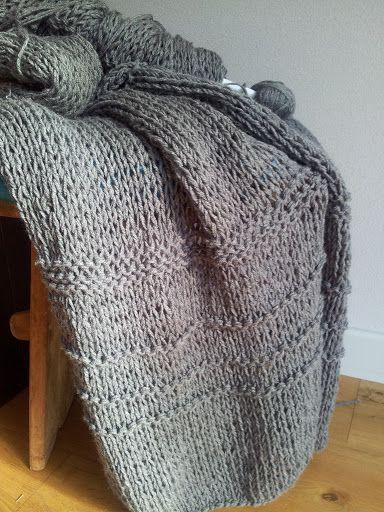 ONLY HANDMADE loves: DIY: snel en makkelijk een deken breien