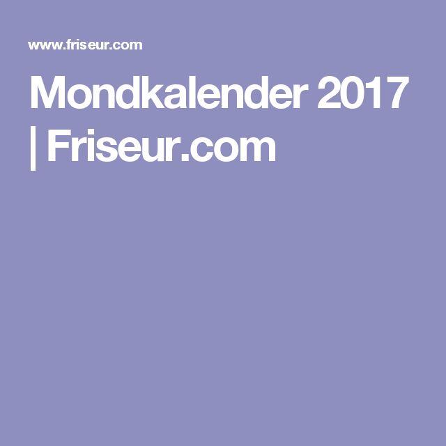 Mondkalender 2017   Friseur.com
