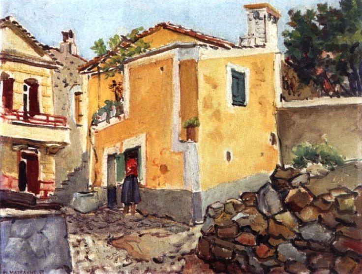 Ματσάκης Μίκης – Mikis Matsakis [1900-1978]   paletaart – Χρώμα & Φώς