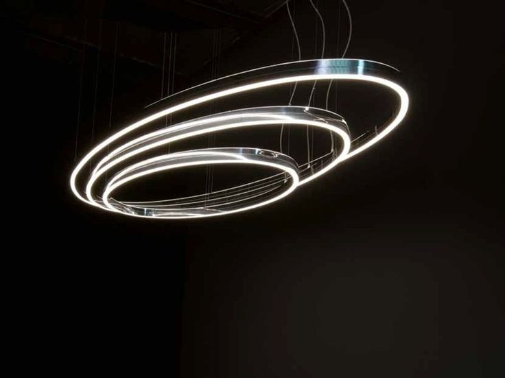 Download the catalogue and request prices of Doppio ellipse By sattler, led aluminium pendant lamp, circolo Collection