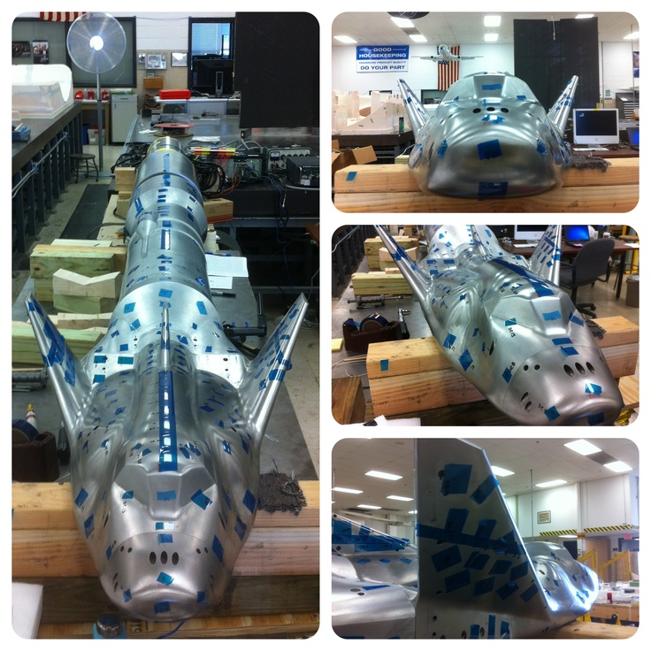 Updated pic of the Dream Chaser model.  The wind tunnel test takes place later this month.