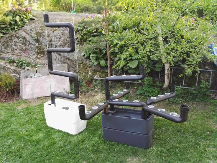 Horizontal and Vertical setup for hydroponic garden