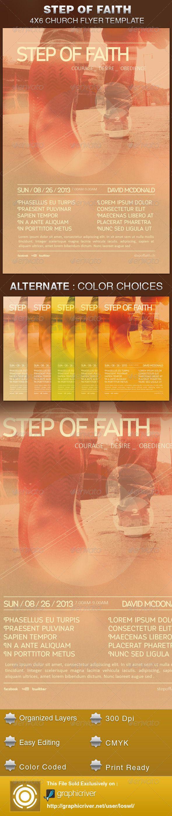 church revival flyer template
