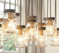 mason jar lights! it doesn't get any better than this :)