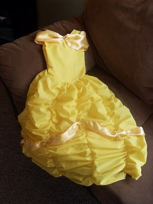 Sarah's Never-Ending Projects: The Belle Costume - Only One Year Late...