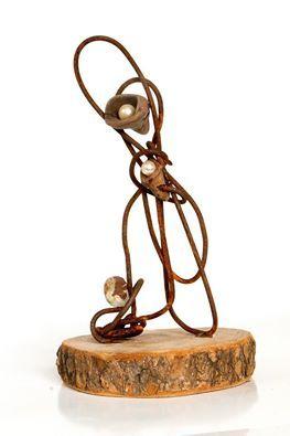 Kunst med jern og perler