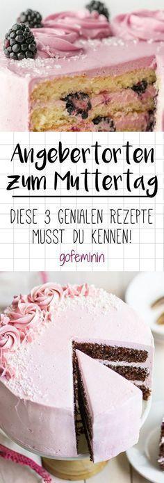 Was gibt es für eine schönere Geste als seiner Mama zum Muttertag eine leckere Torte zu schenken?