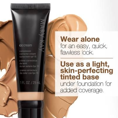 MK CC cream with SPF 15...get ready for summer with this easy, quick and…