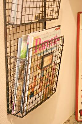 Handige opberger voor je tijdschriften