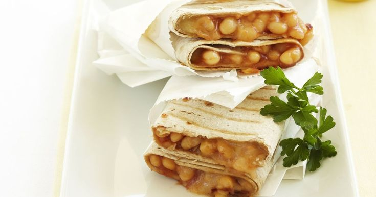 Served in flat bread, this is a great twist on the humble classic, baked beans on toast.