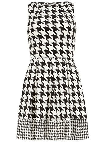 Online shopping for Black And White Curved Hem Houndstooth Combo Sheath Dress from a great selection of women's fashion clothing & more at makeshop-zpnxx1b0.cf