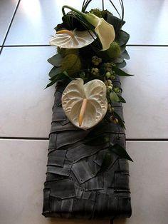 Allerheiligen bloemschikken: Allerheiligen rouwwerk als bloemstuk voor op het graf