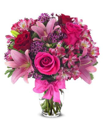 Celebrating Lilie Rose Celebrate every occasion with the popular Rose and Lily Celebration! Created with beautiful seasonal flowers including Asiatic Lilies, alstroemeria, wax flowers and roses.