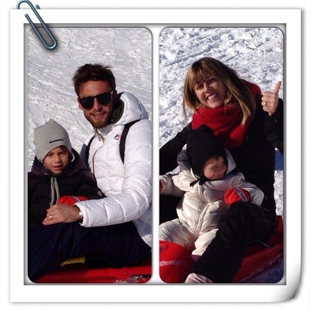 Claudio Marchisio & family