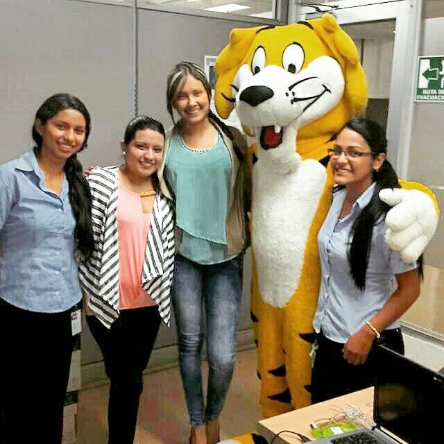 Con el tigre